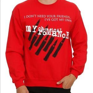 Gildan Shirts - My Chemical Romance red sweatshirt